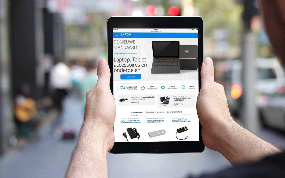 Woocommerce webshop laptop-replace.nl