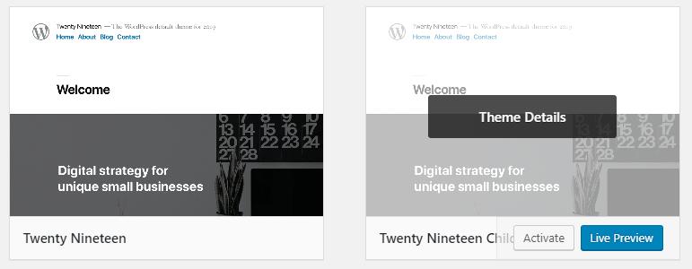 Een Wordpress child theme maken